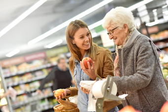 Companion care in South Jersey, including shopping and errands.